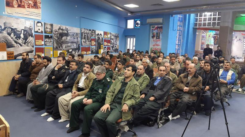مراسم گرامیداشت عملیات و الفجر ۸ در پاوه برگزار شد