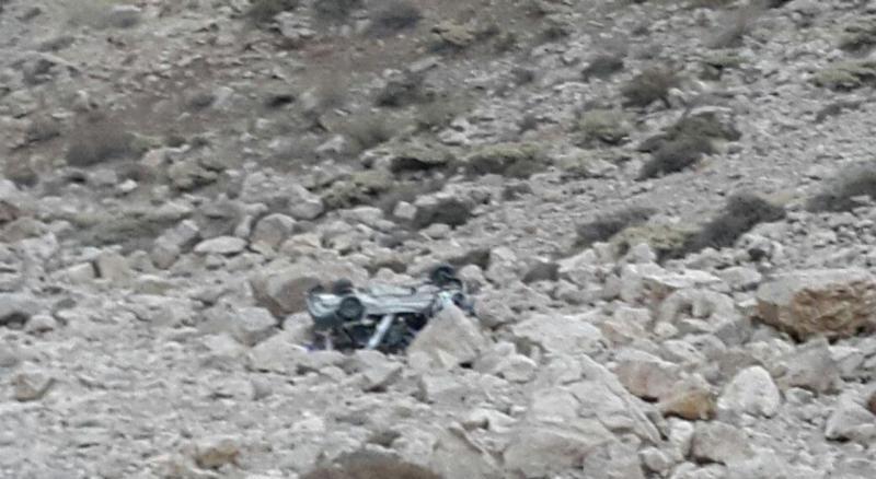 سقوط مرگبار خودرو در منطقه دالانی شهرستان پاوه ۲ کشته برجای گذاشت