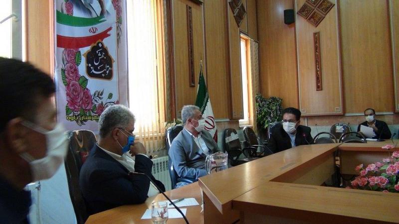 برگزاری جلسه ی مشترک کارگروه اشتغال با مجری بنیاد برکت وابسته به ستاد اجرایی فرمان حضرت امام (ره) در پاوه