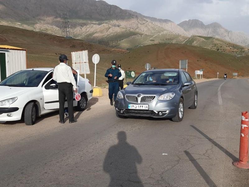 مسدود سازی مبادی ورودی پاوه در تعطیلات عید سعید فطر