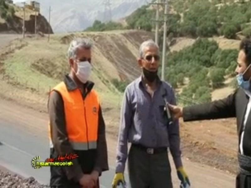 دکتر برهان ولدبیگی: در یک فاصله ۵۰۰ متری، ۶۰۰ هزار قطعه زباله جمع آوری شده است