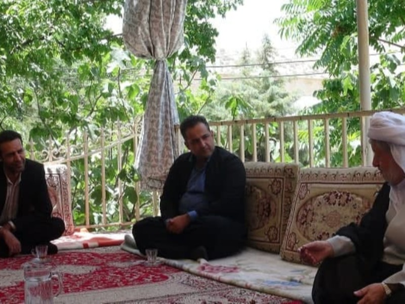 حاج ماموستا قادری در استان کرمانشاه محور (( وحدت )) هستند