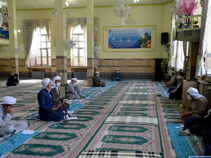 حمایت اعضای شورای روحانیت شهرستان پاوه ، از موضع ماموستا قادری در حمایت از آقای رئیسی