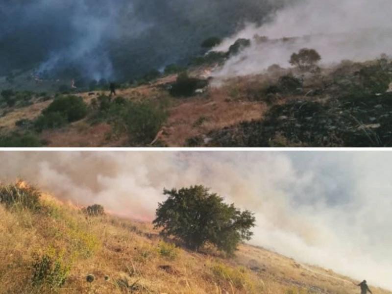 وقوع چند فقره آتش سوزی در مراتع شهرستان پاوه