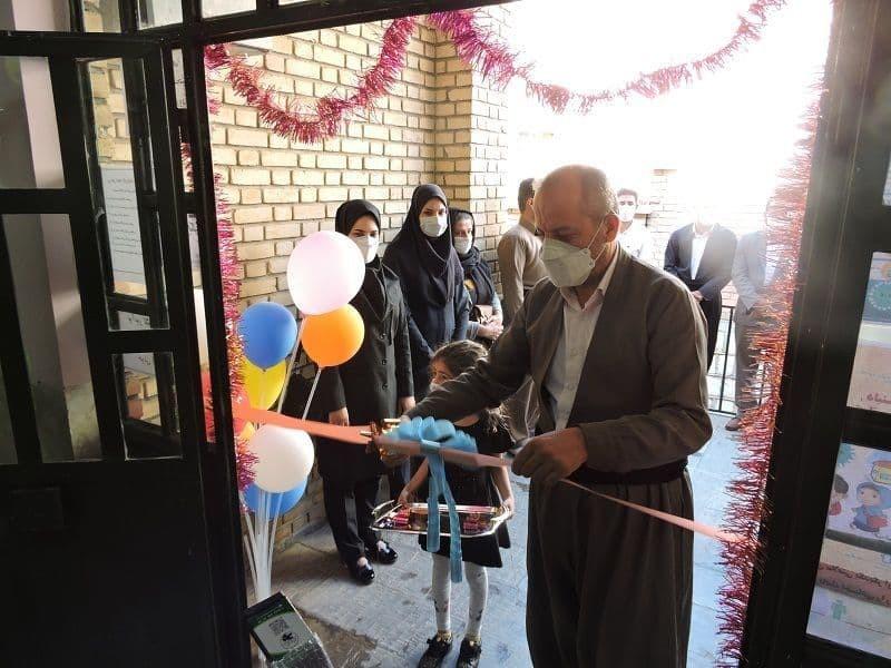 با حضور مدیر آموزش و پرورش پایگاه سنجش سلامت نوآموزان شهرستان پاوه افتتاح شد