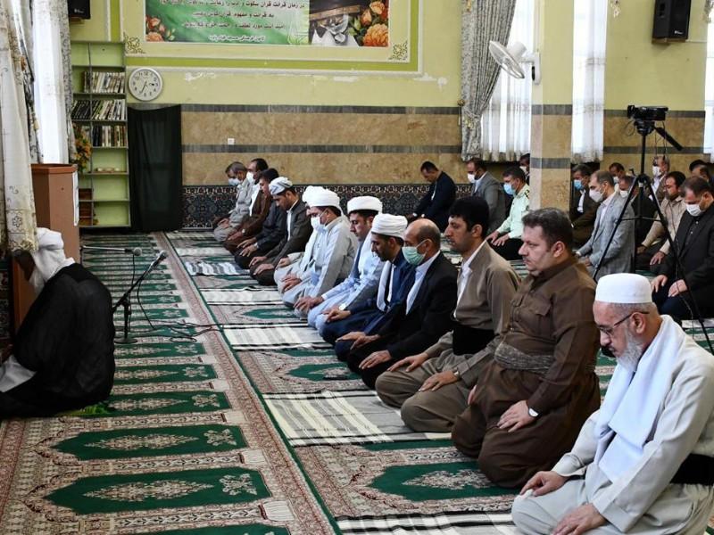 نماز عيد قربان در مسجد قباء پاوه اقامه شد